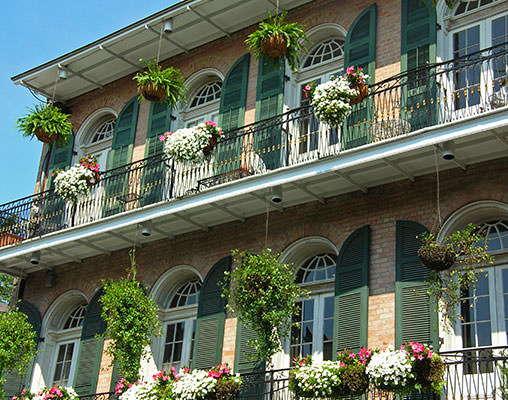 New Orlean's French Quarter