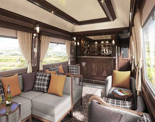 Lounge Car, Grand Hibernian
