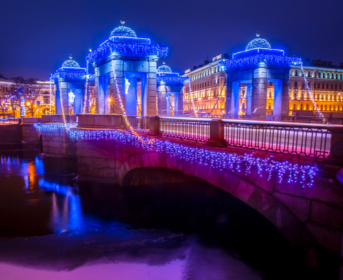New Year Holidays in St Petersburg