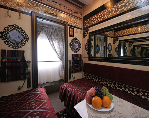 Aboard the Orient Silk Road Express