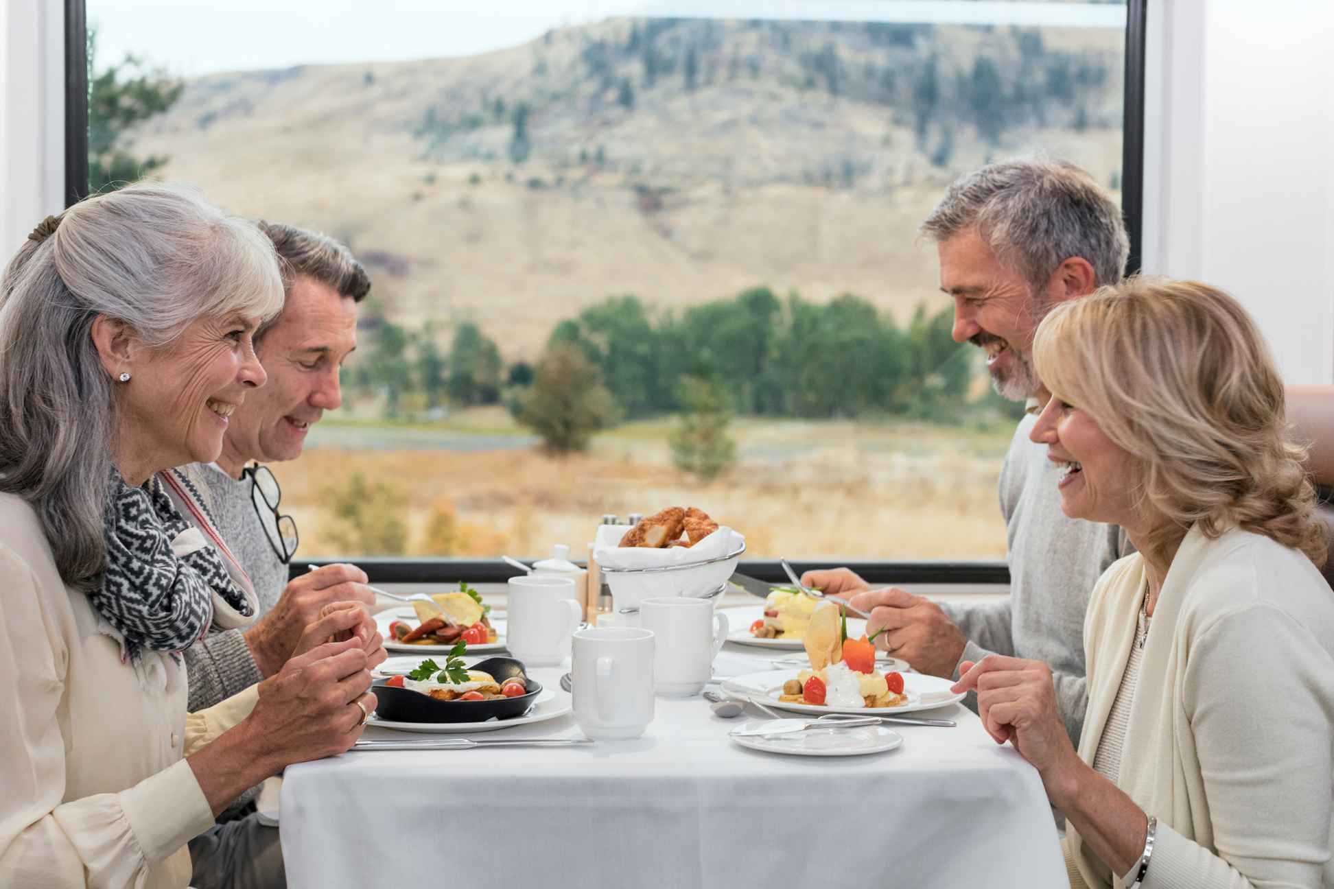 Dining Aboard The Rocky Mountaineer