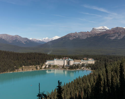 Chateau Lake Louise - photo by Rocky Mountaineer