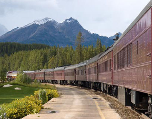 Royal Canadian Pacific towards the Rockies
