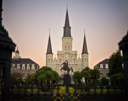 St Louise Cathedral, New Orleans