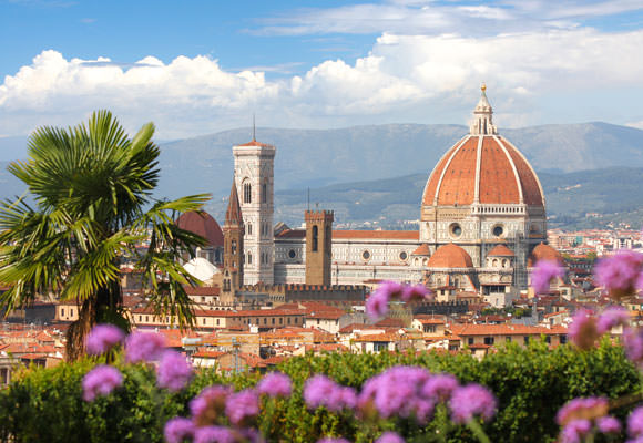 The Duomo rises above Florence