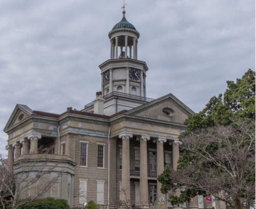 Old Courthouse in Vicksburg