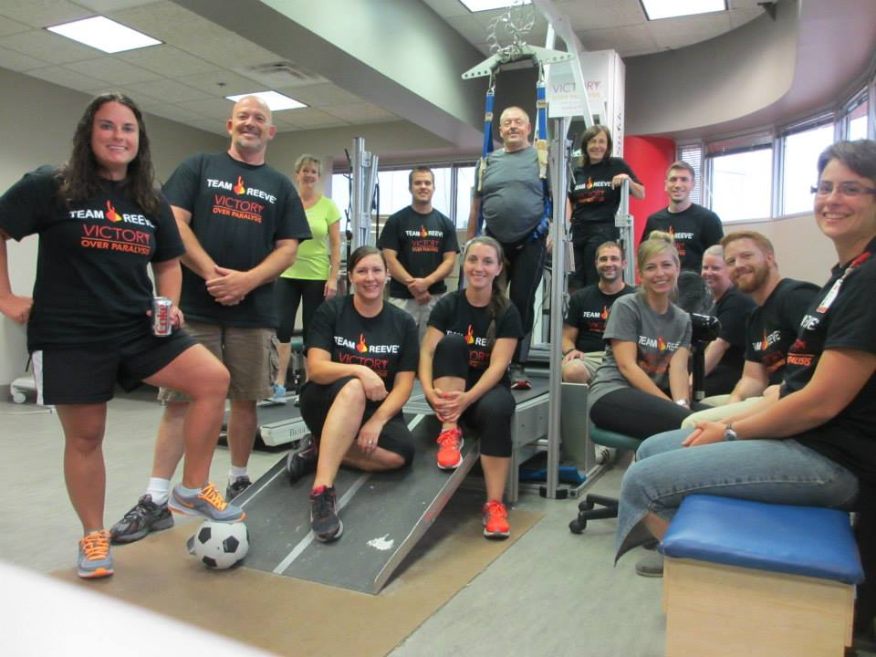 VOP 2014 group photo OSU treadmill