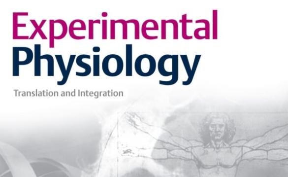 Experimental Physiology Publication