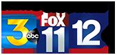 News Channel ABC 3, FOX 11, CBS 12