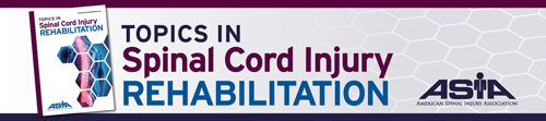 Topics in Spinal Cord Injury Rehabilitation