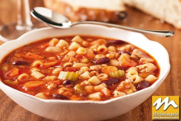 Beans Soup with Pasta