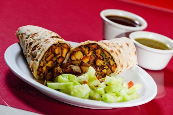 Chicken Masala Wrap