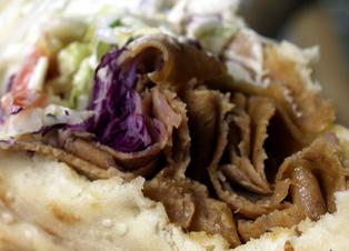 Combo Shawarma plate