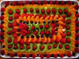 Fresh Fruit Presentation