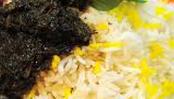 Ghormeh Sabzi w Rice
