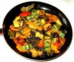 LEEKS WITH MIXED VEGETABLES