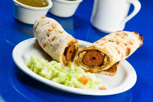 Spicy Seekh Kabab Wrap