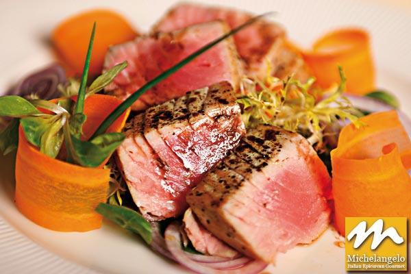 Tagliata of Grilled Tuna