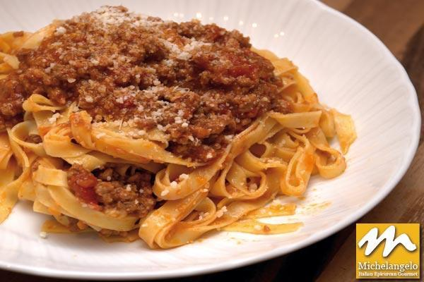 Tagliatelle with Bolognaise Sauce