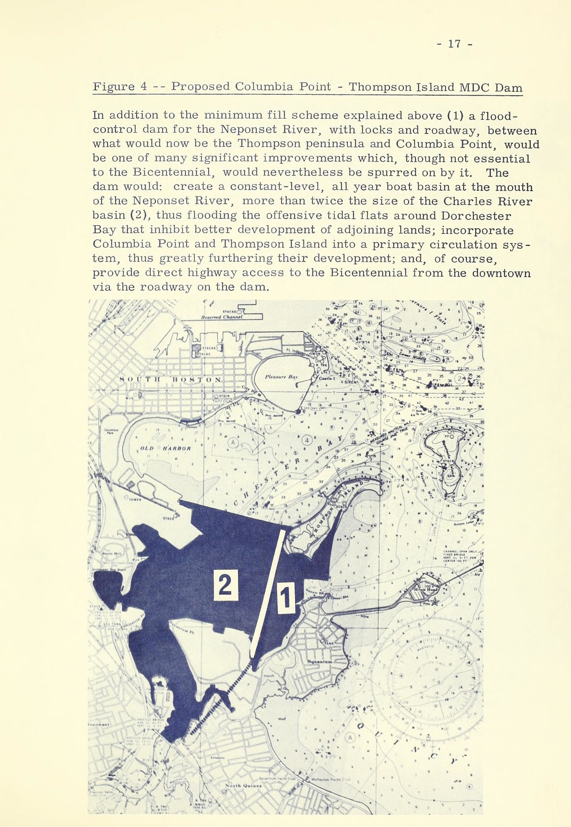 Page from Freedom 75: The United States bicentennial celebration (ca. 1970s). Boston Public Library Government Documents. (Courtesy the Muriel G. and Norman B. Leventhal Family Foundation)