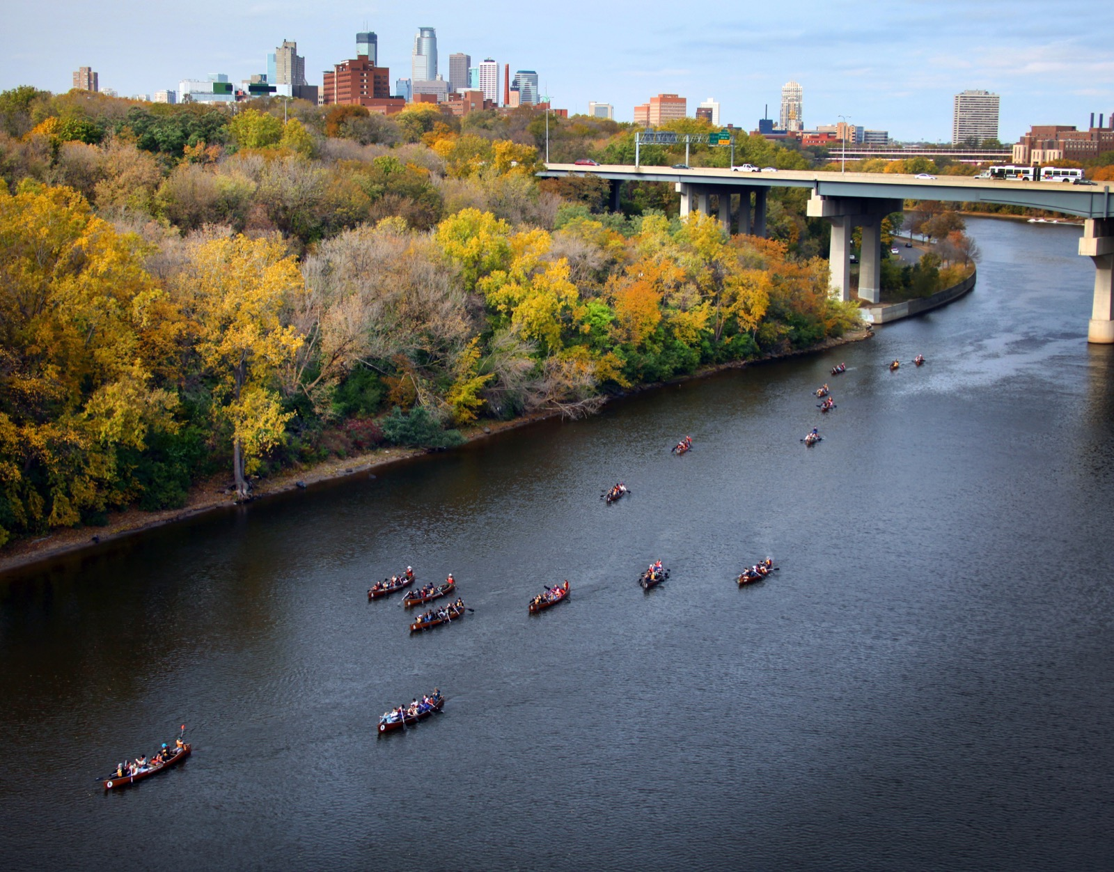 independence day mississippi river paddle wilderness inquiry
