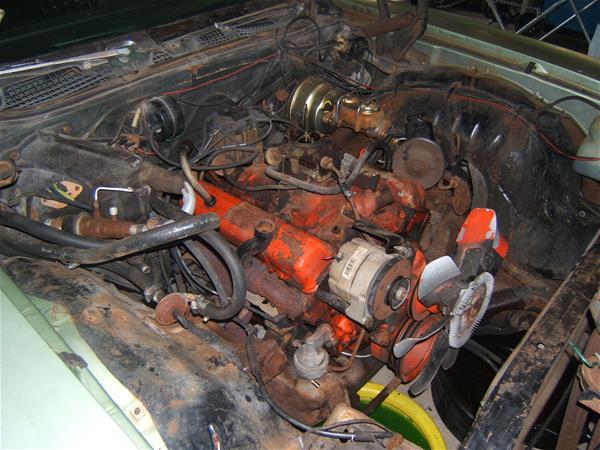 Winning Ride - Wagonman's Chevrolet Impala 1970