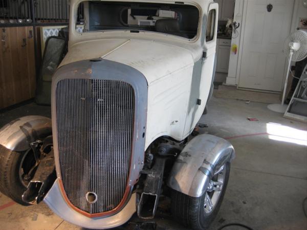 Winning Ride - thowag's Chevrolet 150 1936