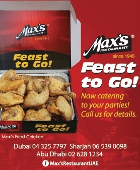 Max's Cater Tray Sweepstakes
