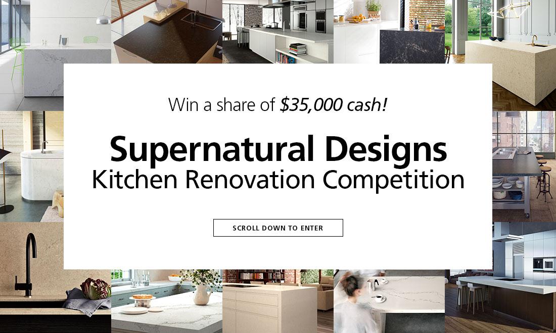 Caesarstone Supernatural Design Kitchen Renovation Competition