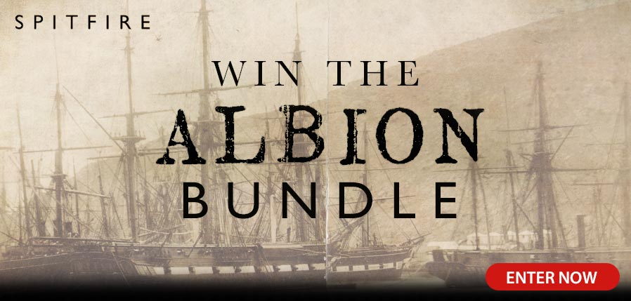 Win an Albion Bundle courtesy of Spitfire Audio
