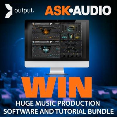 Win Output music software bundle & Ask Audio tutorial pass