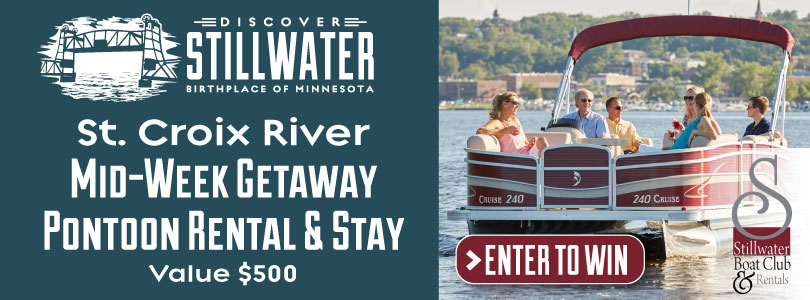 Pontoon & Stay Sweepstakes - Discover Stillwater