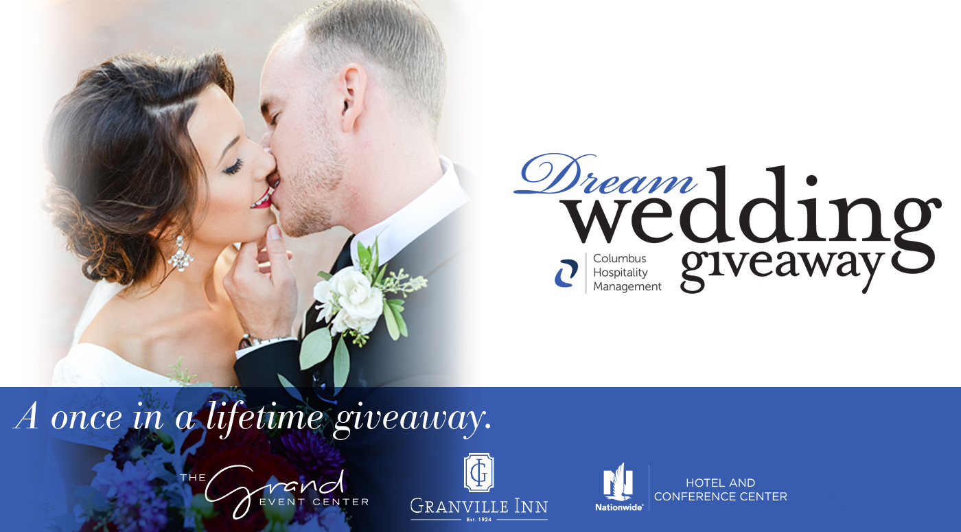 Dream wedding giveaway columbus hospitality management your wedding your way enter columbus hospitality managements dream wedding giveaway for a chance to win junglespirit Images