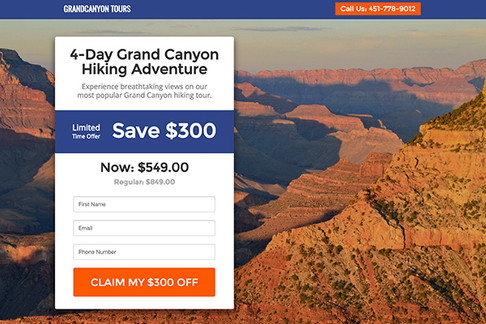 Limited-Time Tour Offer