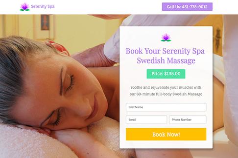 Book a Swedish Massage