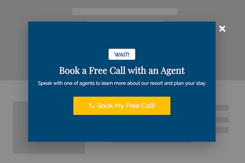 Book a Call with an Agent (Exit Popup)