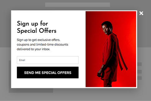 Sign up for Special Offers
