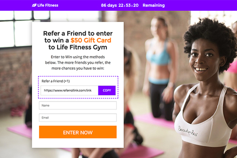 Refer-a-Friend Gift Card Contest