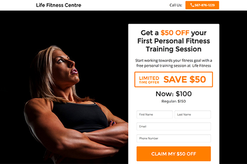 Limited-Time Personal Training Offer