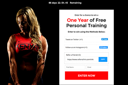 Personal Training Package Giveaway