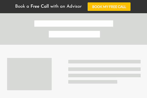 Book a Call with an Advisor (Opt-in Bar)