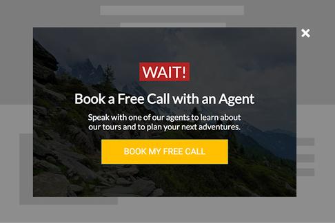 Book A Call (Exit Popup)