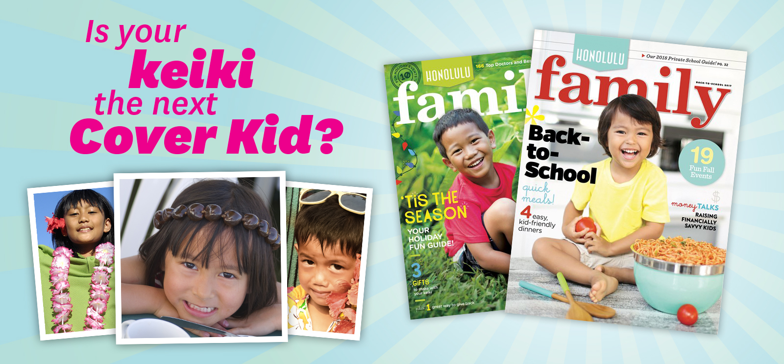 2019 Cover Kids Search - HONOLULU Family