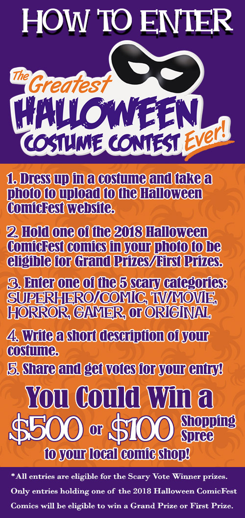 Enter The Greatest Halloween Costume Contest Ever! - Halloween Comic