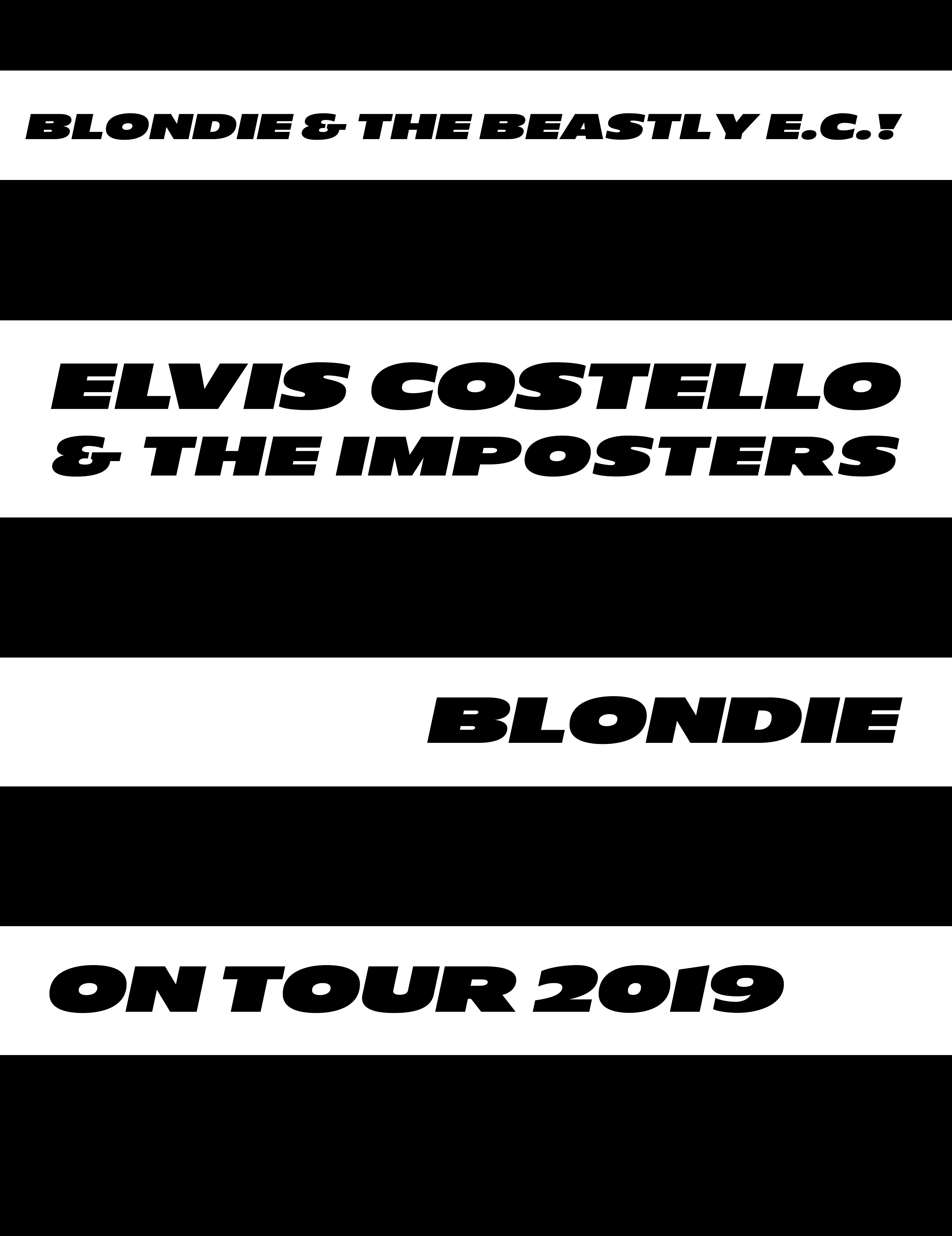 Ticket Contest Elvis Costello The Imposters And Blondie At