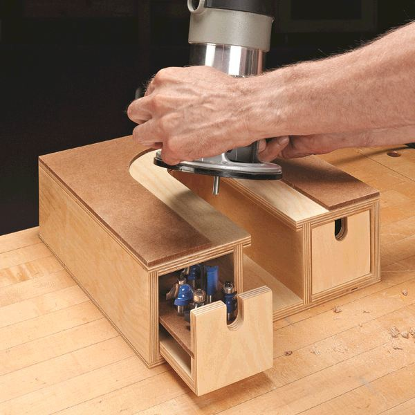 router woodworking plans