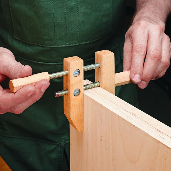 Handy Clamp For Small Parts Woodsmith Tips