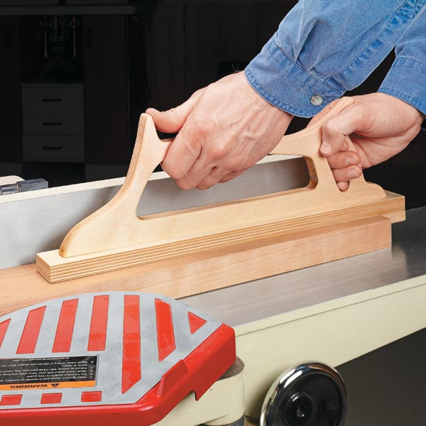 Jointer Push Stick Plans