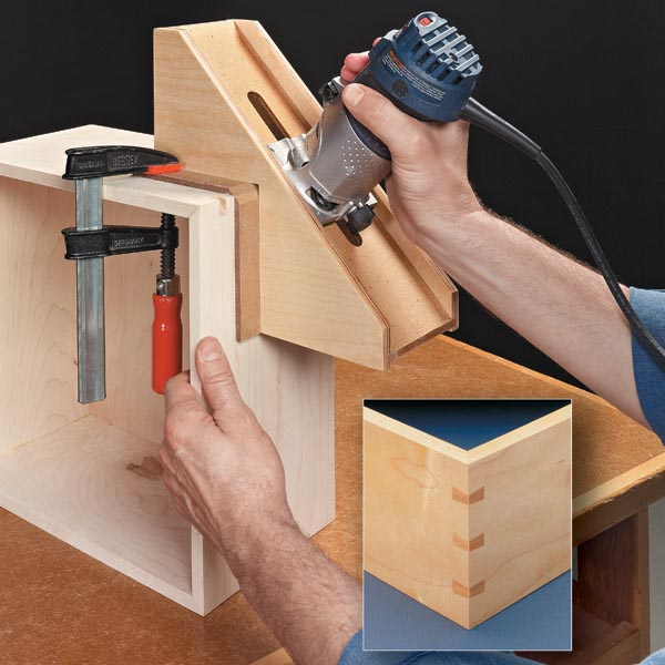 Strong Good Looking Mitered Boxes Woodsmith Tips