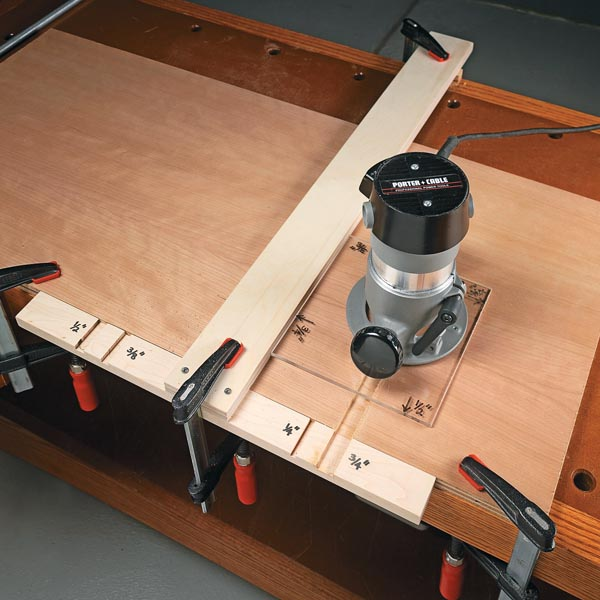Easy Router Joinery Woodsmith Tips